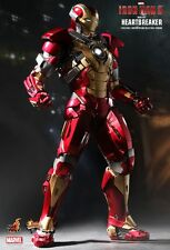 "Sideshow Hot Toys 1/6 12"" MMS212 Iron Man Heartbreaker Mark 17 XVII Figure"