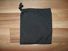 eagle industries nylon drawstring flat pouch black bag slip pocket utility 6.5x6