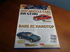 TRAX CATALOGUE 5TH EDITION 2004 XW GTHO XC HARDTOP HQ TAXIS MONARO CHARGER