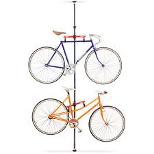 Teleskop Fahrradhalterung Fahrradständer Halterung Fahrrad Ständer 2 Räder Stahl