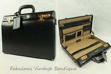 GABBIANO Italy Blck Lawyer Doctor Briefcase Portfolio Document Attache Code Lock