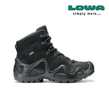 Chaussures Rangers Lowa Zephyr mid Gore-Tex noires taille 41 / gtx Task Force TF