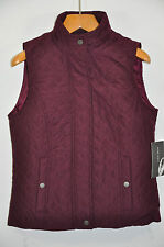 NWT Women's Nine West, Quilted Vest Jacket. Size L.