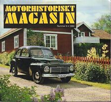 Motorhistoriskt Magasin Swedish Car Magazine #5 1994 Volvo 031617nonDBE
