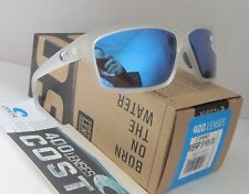 COSTA DEL MAR matte crystal/blue mirror CUT POLARIZED 400G sunglasses NEW IN BOX