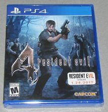 Resident Evil 4 for Playstation 4 Brand New! Factory Sealed!