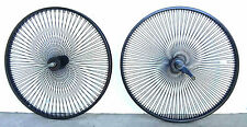 Beach Cruiser 26 x 1.75 Rear/Front Black Wheels 140 Black spokes Coaster Brake