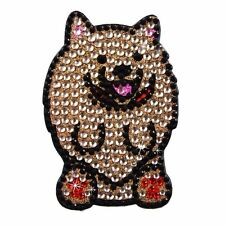 Sticker Bling Bling Gemz Crystal Rhinestone Pomeranian Dog