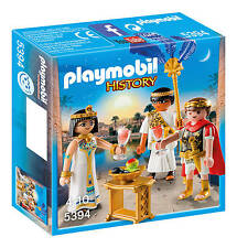 Playmobil 5394  Cäsar & Kleopatra  Roman Time  New / Sealed 2016