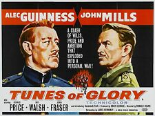 "TUNES OF GLORY 1960 16"" x 12"" Reproduction Movie Poster Photograph"