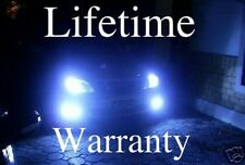 MONSTER 10000K ULTRA BLUE LIFETIME WARRANTY XENON HID LOOK HEADLIGHTS H13