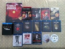 Stanley Kubrick lotto box 14 blu ray dvd Libro arancia meccanica barry lyndon