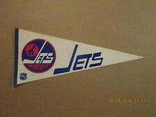 NHL Winnipeg Jets Vintage 1st Year Logo Hockey Pennant