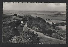 ARUNDEL. Bury Hill. Cars on road.  Shoesmith RP Photograph Sussex  postcard f260