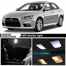 White Interior LED Lights Package 2007-2015 Mitsubishi Lancer Evolution