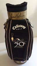 ARNOLD PALMER Signed CALLAWAY 50th MASTERS Mini GOLF BAG w/ PSA DNA Coa