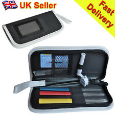 UK - Pack of Guitar Tools Kit for Luthier Nut Files Stainless Steel Ruler Winder