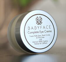BABYFACE COMPLETE EYE CREAM: HALOXYL EYELISS CAFFEINE Wrinkle, Dark Circle, Puff