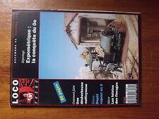 $$7 Loco-Revue N°554 Desherbeuse-nettoyeuse  Depot vapeur 0  Teintes flocages