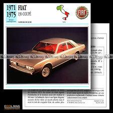 #046.09 FIAT 130 COUPE V6 (1971-1975) - Fiche Auto Car card