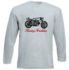AERMACCHI ALA D`ORO TRADITION P - GREY LONG SLEEVED TSHIRT- ALL SIZES IN STOCK