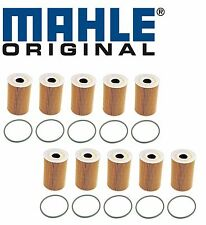 10-OEM Mahle Engine Oil Filter Porsche 911 997 Cayenne V8 Panamera Macan