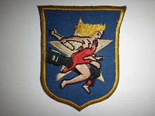 Korea War USMC Fighter Sq VMA-121 WOLF GIRL (1st Design) Embroidered Patch