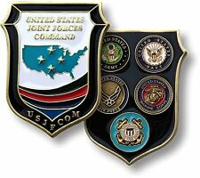 U.S. Joint Forces Command / Military Branch Seals - USJFCOM Challenge Coin