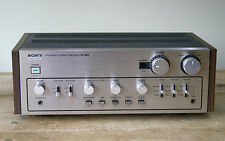 Sony TA-3650 Stereo Integrated Amplifier with Phono Stage - Made in Japan