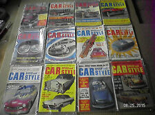 1959 CAR SPEED AND STYLE MAGAZINE 12 ISSUES I YEAR..LOT...CUSTOMS, HOT RODS