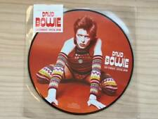"David Bowie Limited Edition 7"" Picture Disc Record Japan F/S"