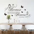 Removable Art Vinyl Wall Sticker Decal Mural Home Decor Quote Word Poem DIY B9