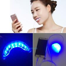 VS2# New 16LED Teeth Whitening Cold Light Lamp w Triple Interface Adapter Cable