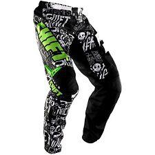 SHIFT MOTOCROSS PANTS NEW #30 Black /green Motorcross Off Road Dirt bike BMX ATV