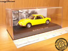 MATRA 530 YELLOW 1968 1:43 MINT WITH BOX ART!!!