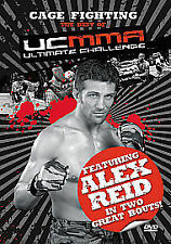 Cage Fighting The Best of Ultimate Challenge UK  Featuring Alex Reid Dvd New