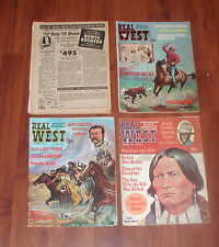 4 REAL WEST MAGAZINE CHARLTON JANUARY AUGUST SEPTEMBER DECEMBER CHARLEY GLASS