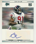 2007 TOPPS PERFORMANCE AMOBI OKOYE AUTO RC HOUSTON TEXANS #131