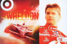 2006 Dan Wheldon Target Honda Dallara Indy Car postcard