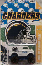 "Hot Wheels CUSTOM MONSTER DAIRY DELIVERY ""San Diego Chargers Football"" 1/1 Made"