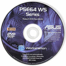 ASUS P5E64 WS EVOLUTION Motherboard Drivers Installation Disk M1318