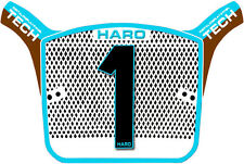 HARO AERO TECH OS Race BMX Number Plate Replica Old School Cool Blue Brown SE