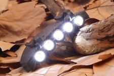NEW Head Lamp 5 LED Head Light  Fishing Camping Hunting Hiking Hat Torch Hunt