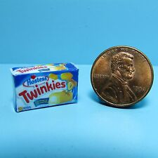 Dollhouse Miniature Replica Box of Hostess Twinkies for the Cupboard ~ G076
