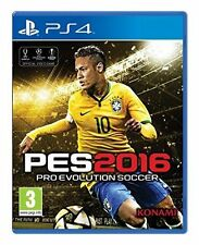 PES Pro Evolution Soccer Euro 2016 - PS4 Game Excellent - 1st Class Delivery