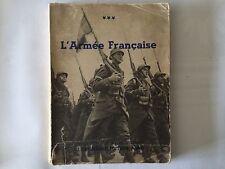L'ARMEE FRANCAISE LA FRANCE VIVANTE ILLUSTRE  1935