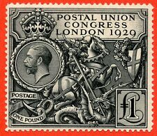 SG. 438. NCom9. £1.00 Postal Union Congress. ( PUC ). A fine mounted mint.
