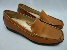 Womens Rockport Loafer Shoes Brown Leather Size 9 ~NEW~