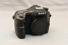 Sony Alpha SLT-A77 24.3 MP Digital SLR Camera - Black (Body Only)