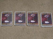 Galactic Empires Alpha Booster Packs Lot of 4 1994 Collectible Card Game Sealed